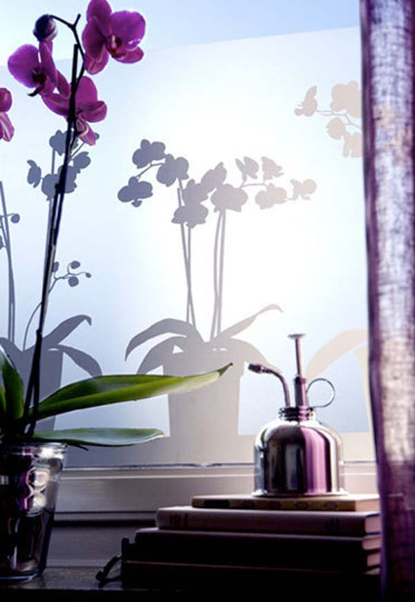 modern window film 2 Decorative Window Film For Office, Kitchen or Living Room