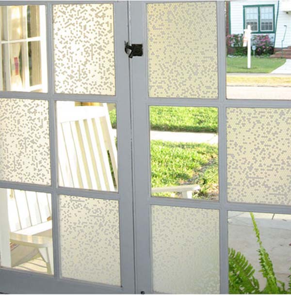 decorative window film for office kitchen or living room - Decorative Window Film