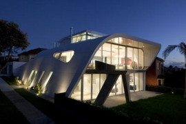 The Moebius House : computer generated luxury residence
