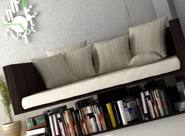 ramsa4 Beautiful and minimal Ransa reading sofa