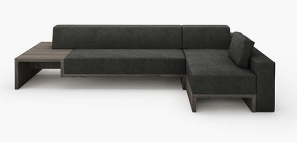 slow1 Elegant and ergonomic Slow Sofa