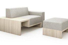 Elegant and ergonomic Slow Sofa