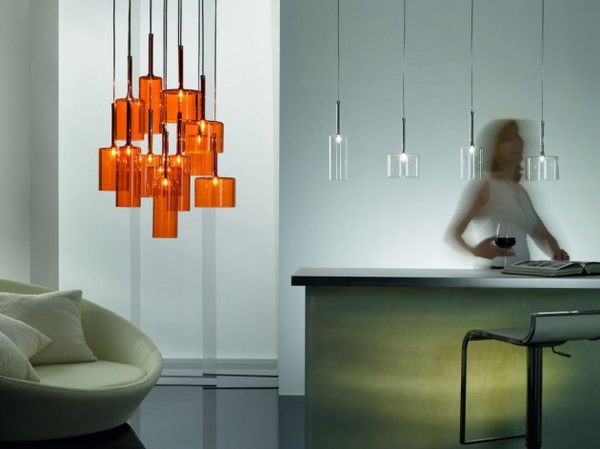 spillray1 Minimal and elegant Spillray lamps by Axo Light