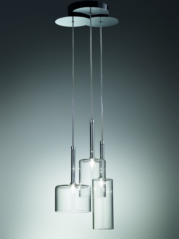 spillray6 Minimal and elegant Spillray lamps by Axo Light