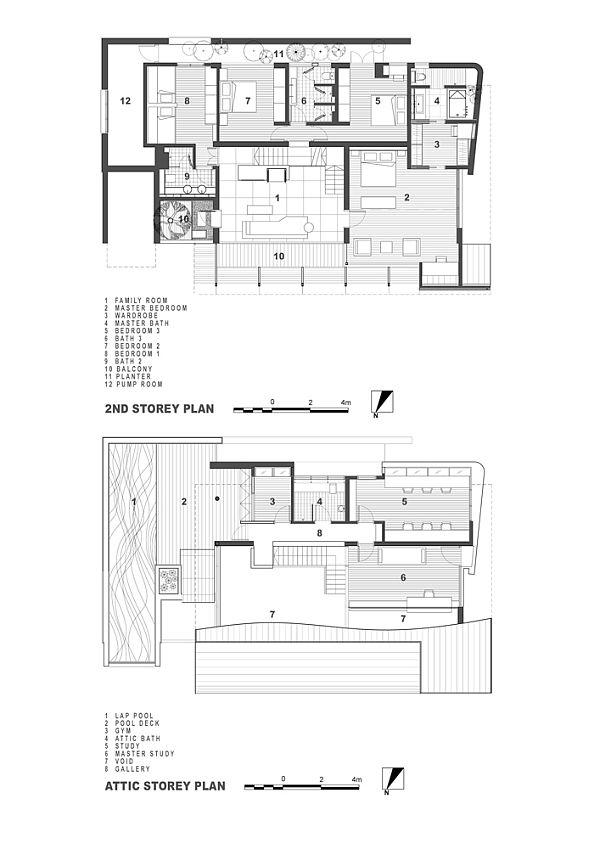 Contemporary residence Singapore 9