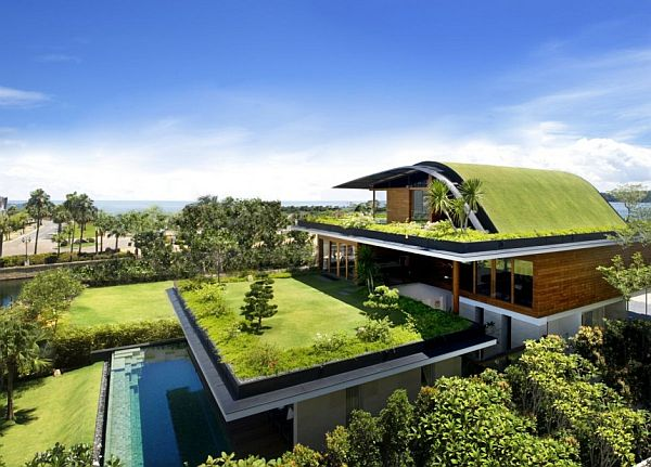 Meera House by Guz Architects 2 Garden based modern residence with a wonderful panorama (The Meera House)
