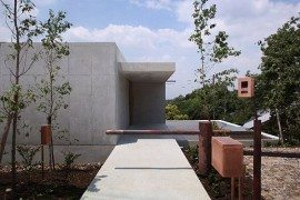 Minimalist and contemporary residence in Minamiyama by Tomoaki Uno