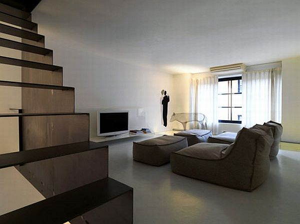Minimalist Milan Apartment Interior Design 9