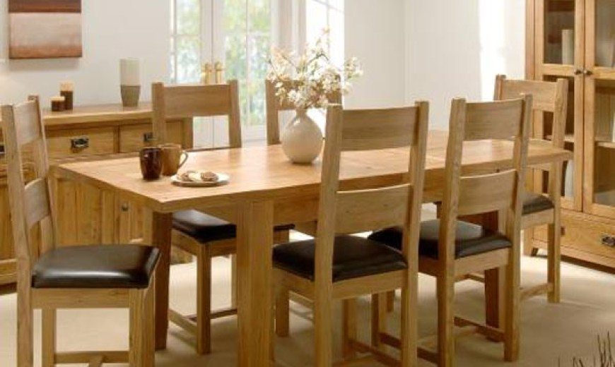 Reclaimed Oak Furniture For a Nice Touch Interior