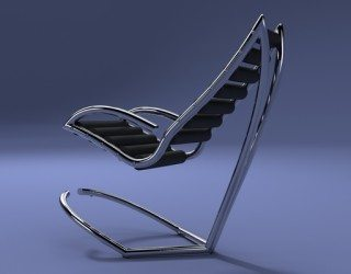 Y Chair by Urbano Rodriguez: First Reclining Chair Wthout Mechanics