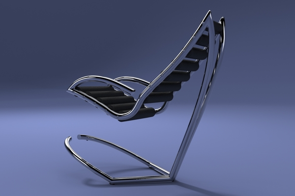 Reclining Y Chair by Urbano Rodriguez 1 Y Chair by Urbano Rodriguez: First Reclining Chair Wthout Mechanics