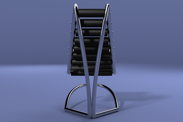 Reclining Y Chair by Urbano Rodriguez 2 Y Chair by Urbano Rodriguez: First Reclining Chair Wthout Mechanics