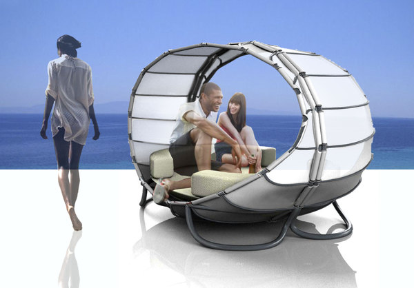 Sail Outdoor Furniture Lounge 2 Sail Outdoor Furniture by Maria Cichy