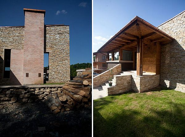 Stone House Combines Rustic And Modern In Romania