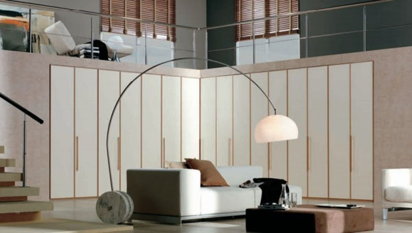 carre11 Stylish and ingenious wardrobe design