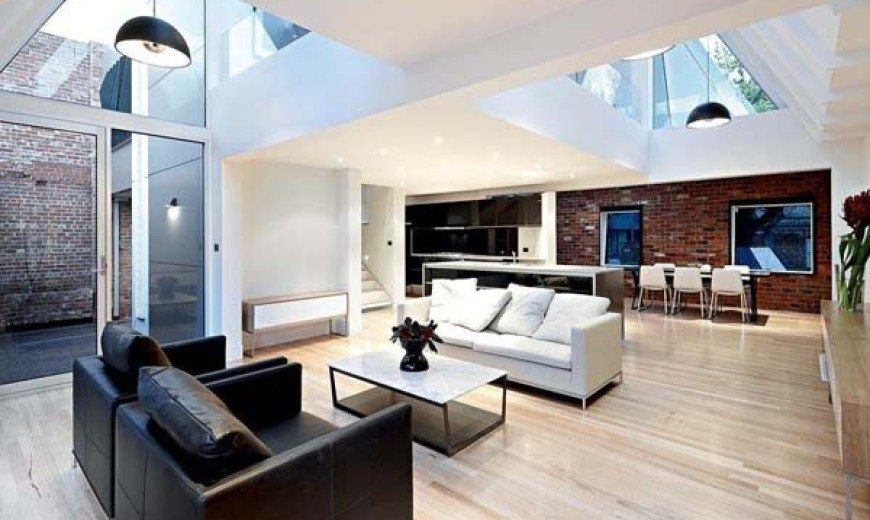 Gorgeous modern update of a historic building