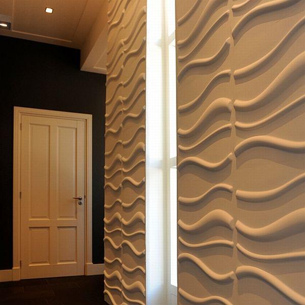 3d wallpanel 3d wallpaper 3d wallcover Waves