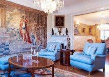 Art Nouveau apartment with gorgeous details and a modern floor plan