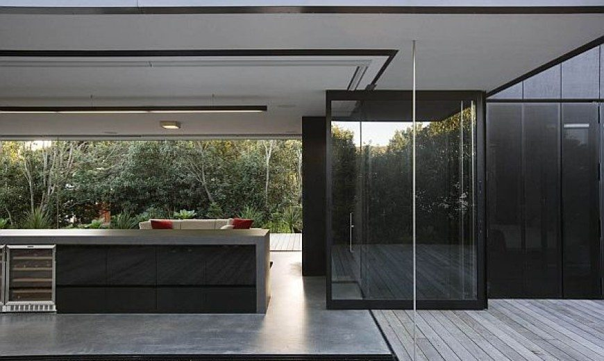 Contemporary vacation home in New Zealand by Fearon Hay Architects