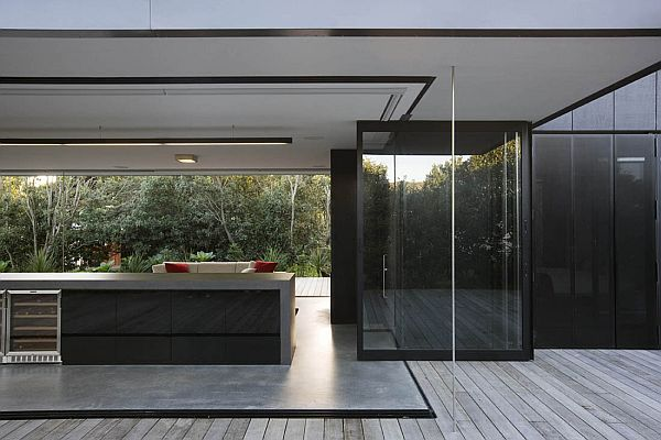 Contemporary vacation home in New Zealand 2 Contemporary vacation home in New Zealand by Fearon Hay Architects