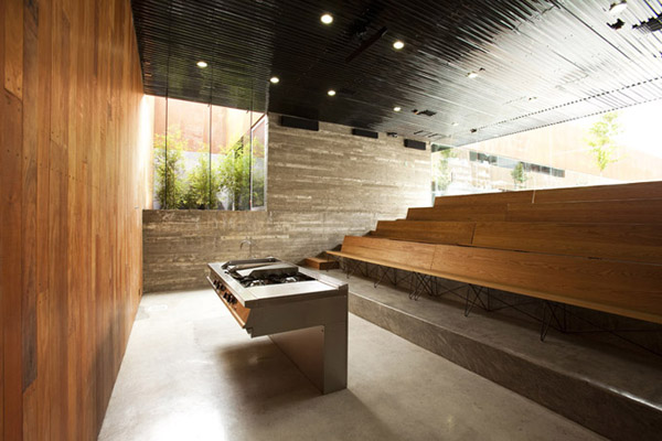 Modern High School Classroom Design ~ Modern cooking school the culinary art in tijuana