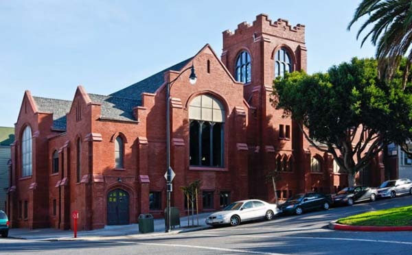 Gothic Church Converted into a Residence Extraordinary church in San Francisco converted into a modern residence