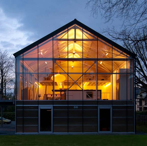Greenhouse by Carl Verdickt 6 Eco friendly greenhouse project in Belgium by Carl Verdickt