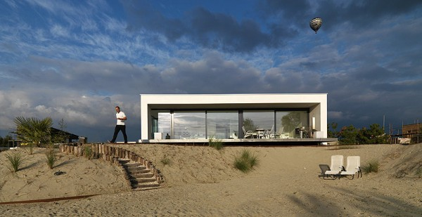 House by Grosfeld van der Velde Beach inspired residence in Breda, Netherlands by Grosfeld van der Velde studio