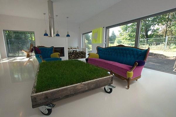 NeostudioArchitekci home in Poland 8 White, bright and featuring colourful furniture: House near Poznan by Neostudio Architekci