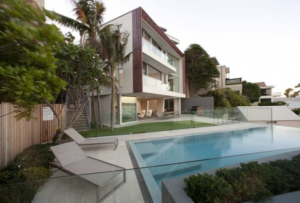 Point Piper House 12 Amazing residence built on a slope: the Point Piper House by Popov Bass Architects