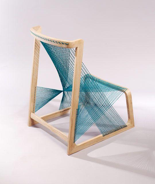 Silkchair by Alvi Design 2 Unique chair made of silk strings: the Silkchair by Alvi Design
