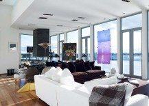 Exceptional artistic penthouse apartment overlooking Stockholm