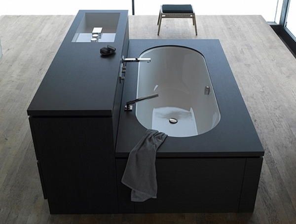 be1 Cool modular bathroom furniture suite