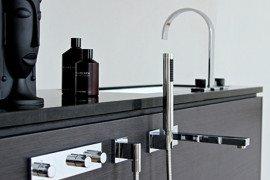 Cool modular bathroom furniture suite
