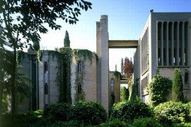 Fabulous home in an old concrete factory, industrial and Romanesque