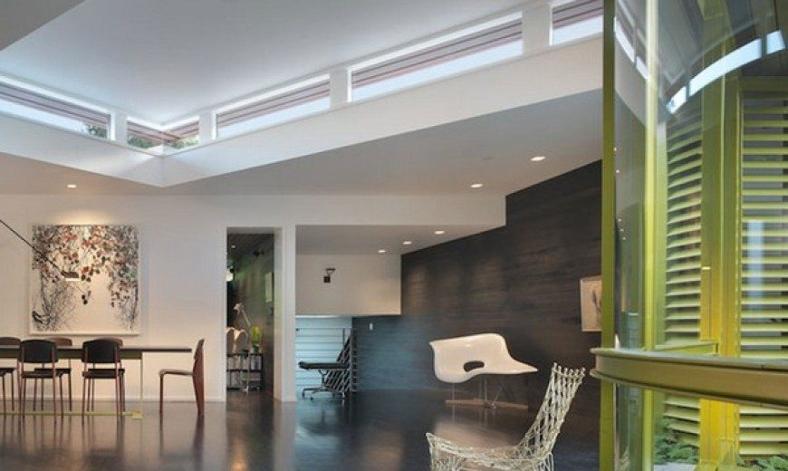Youthful and refined home of Dwell magazine founder and architect