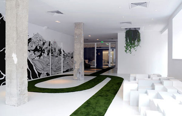 Eco friendly and creative advertising agency in paris for Interior design marketing agency