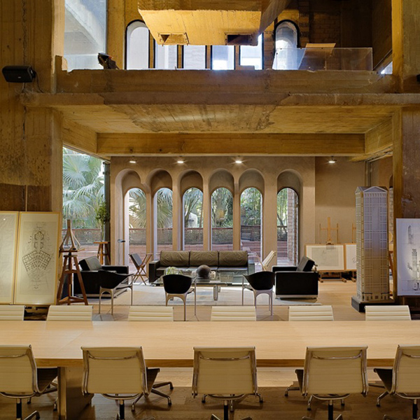 ricardo bofill converted cement factory (2)
