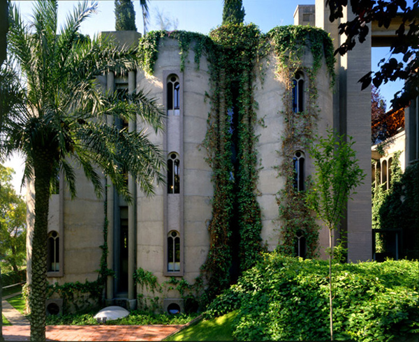 ricardo bofill converted cement factory 9 Turning an old cement factory into an incredible residence