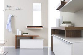 Stylish and functional foyer furniture