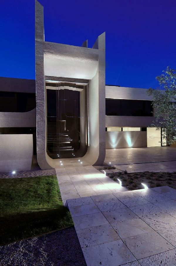 A-cero Architects Concrete House in Madrid 10