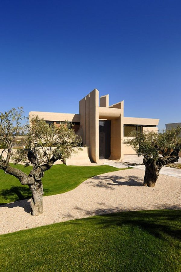 A-cero Architects Concrete House in Madrid 12