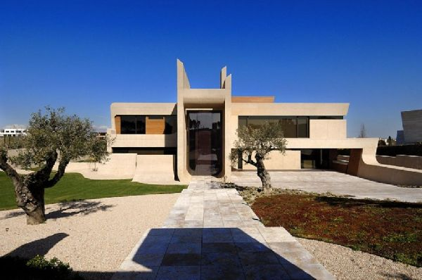 A-cero Architects Concrete House in Madrid 13