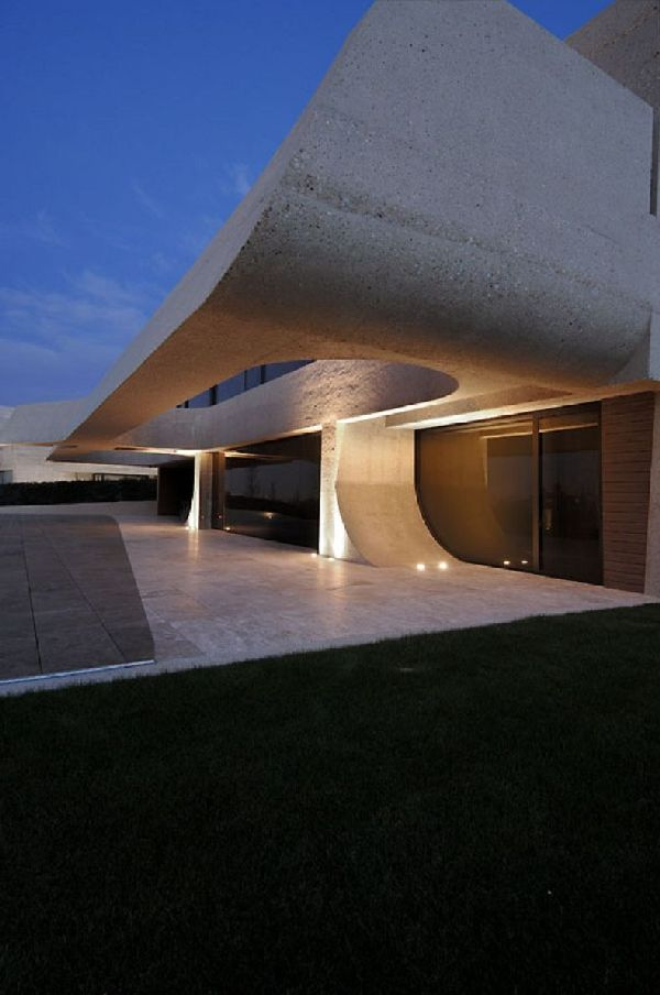 A-cero Architects Concrete House in Madrid 4