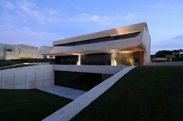 A-cero Architects Concrete House in Madrid 5