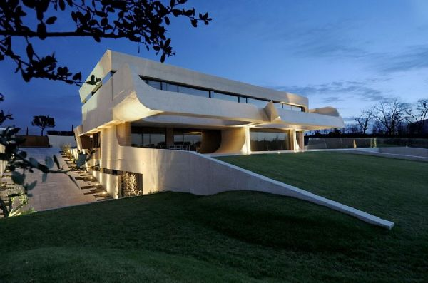 A-cero Architects Concrete House in Madrid 7