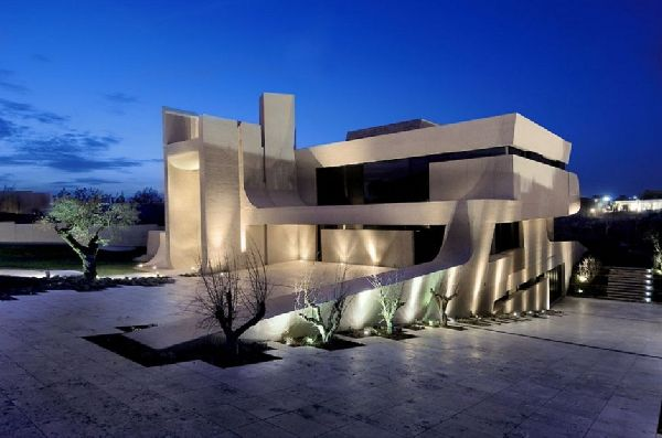 A-cero Architects Concrete House in Madrid 8