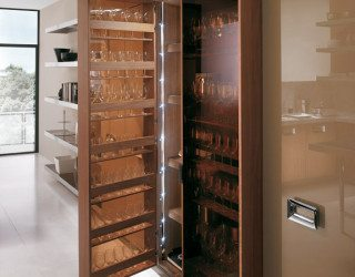 Walnut Kitchen Furniture, The Barrique Collection