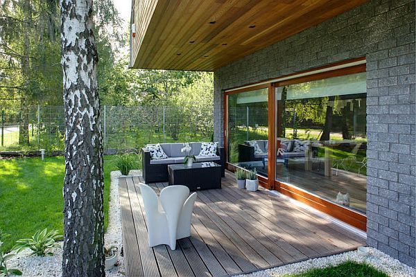 Charming House in Warsaw 2 Small Space Big Style in Poland by Damian Cyryl Kotwicki