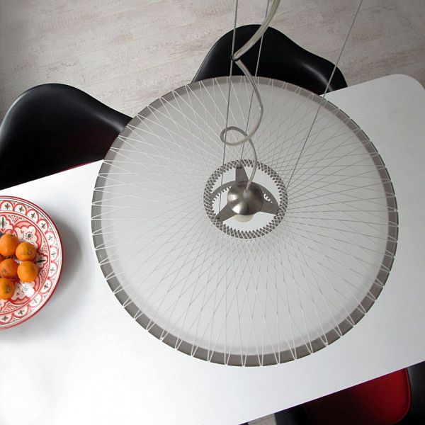Disque Pendant Lamp by Marc van der Voorn 2 Modern Translucent Pendant Lamp by Marc van der Voom